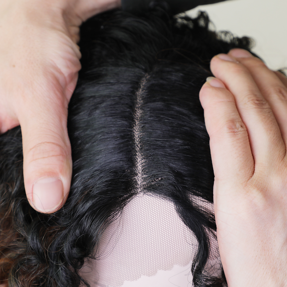 Στοιχείο 20 ιντσών μακρύ κυματιστό Lace - Συνθετικά μαλλιά - Φωτογραφία 5