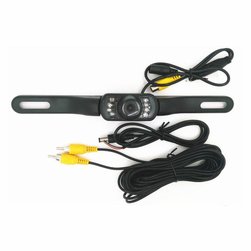 170 CMO Mini Wasserdichte Auto Einparkhilfe Rückfahr Zurück Rückansicht Kamera HD CCD Bild Rück Kamera 3 Kamera Für option