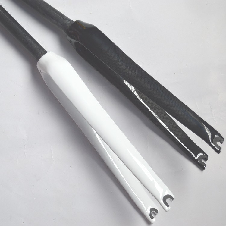 """Road Bike Bicycle Full Carbon Fiber Forks Front Fork Cycling For 700*23 C 1 1//8/"""""""