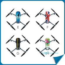 DJI Mavic Pro PVC Stickers Waterproof Mavic Sticker for DJI Mavic Pro Combo Folding FPV Drone With 4K HD Camera RC Quadcopter