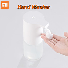 In Stock Original Xiaomi Mijia automatic Induction Foaming Hand Washer Wash Automatic Soap 0.25s Infrared Sensor For Smart Homes цены