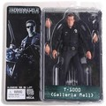 "Free Shipping NECA The Terminator 2 Action Figure T-1000 Galleria Mall Figure Toy 7""18cm Model Toy #ZJZ006"
