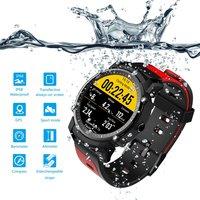 FS08 Waterproof GPS Sport Fitnes Tracker Stopwatch Heart Rate Monitor Wristwatch Stylish Bluetooth Smart Watch men relogio