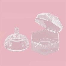 Портативная Соска-пустышка унисекс для маленьких мальчиков и девочек, коробка-подставка, держатель-пустышка, прозрачный цвет, Новое поступление