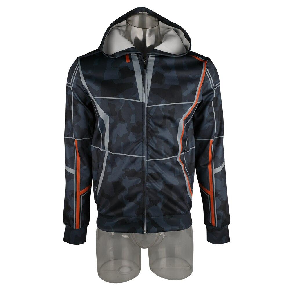 Film Avengers Infinity War Iron Man/'s Tony Stark Hoodie Coat Sweatshirt Jacket