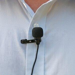 Image 4 - Ulanzi Arimic Hands Free двухголовый петличный микрофон 6 м мини клип на лацкане микрофон для iPhone для интервью встречи лекции