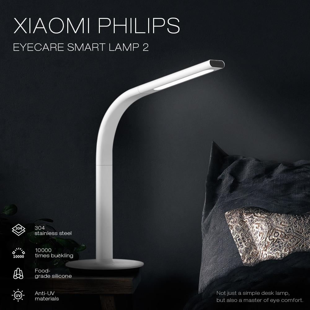 Xiaomi Mijia veilleuse Eyecare lampe de Table intelligente App lumière de contrôle intelligente 4 scènes d'éclairage xiaomi lumière de bureau
