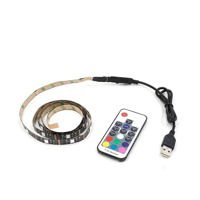 LED páska RGB osvětlení DC5V USB SMD5050 TV / PC pozadí 60LEDs / - LED Osvětlení