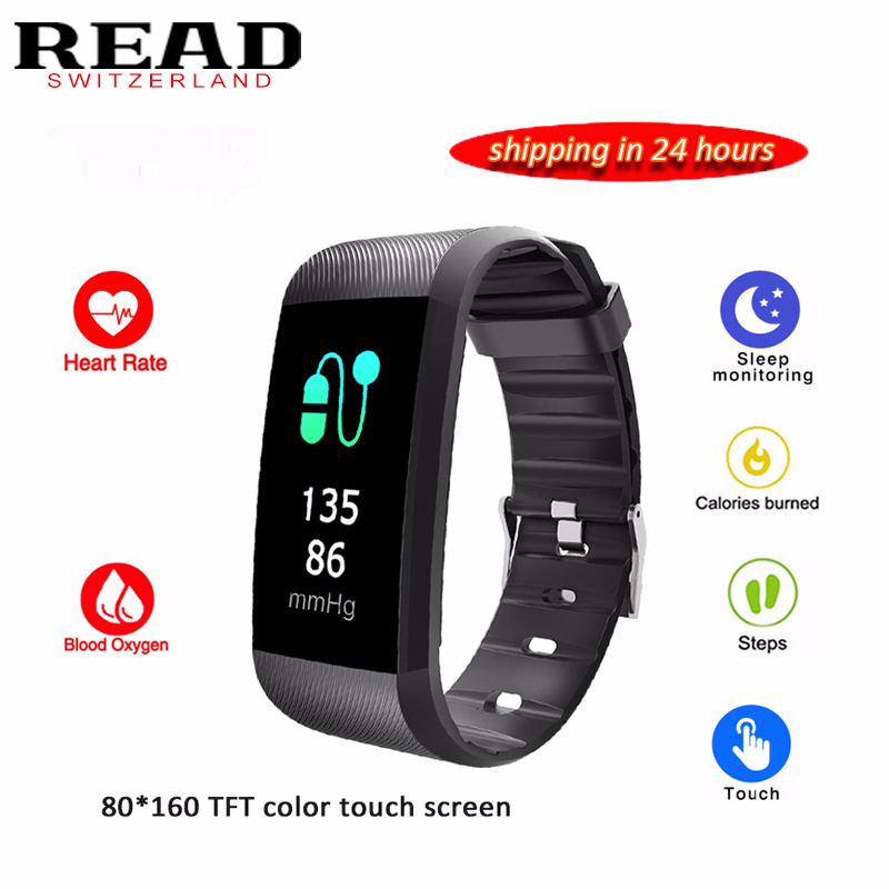 все цены на READ R11 Smart Bracelet Waterproof 24 hours Heart Rate Monitor Fitness Tracker Bluetooth Smart Watch for Sports PK TEZER онлайн