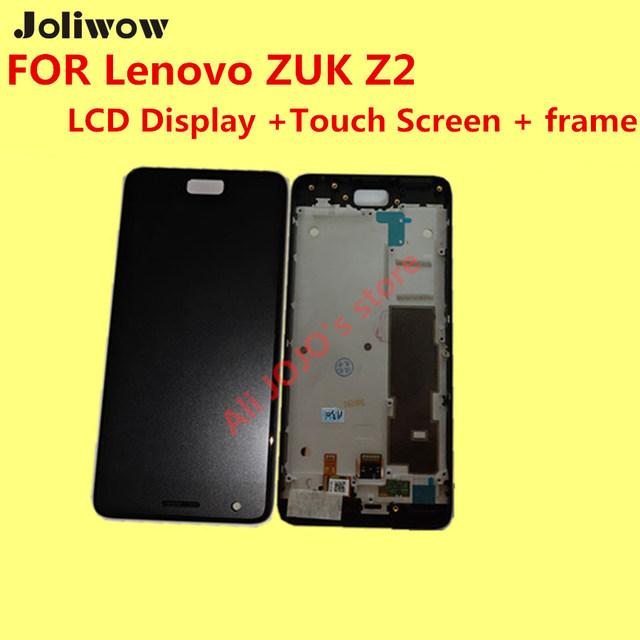Alta qualidade para a lenovo zuk z2 lcd display + touch screen + quadro + ferramentas digitador assembléia de substituição de acessórios para telefone