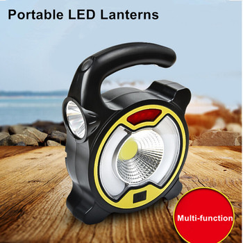 S2834 Portable Led Handy Light Lamp Solar Light USB Rechargeable Led Highlight Multi-function Outdoor Flashlight 4 Modes Camp 4 modes led flood light 20w cold white usb rechargeable led reflector portable ip44 projecteur led spotlight camp tent lighting