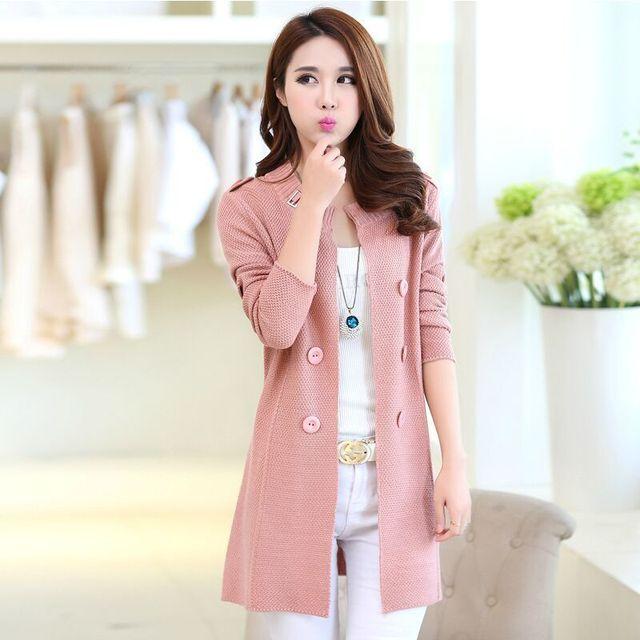 2018 New Fashion Autumn Spring Women Sweater Cardigans Casual Warm