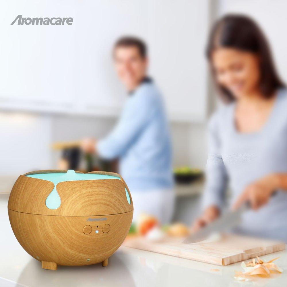 Aromacare 600mL 에센셜 오일 디퓨저 미니 공기 가습기 - 가전 제품 - 사진 4