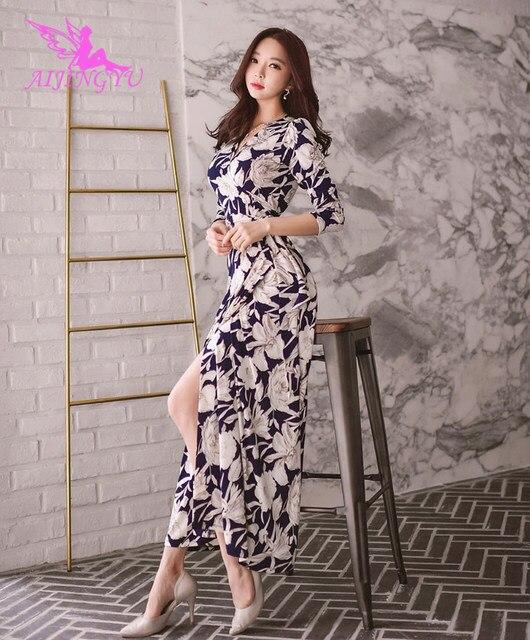 AIJINGYU сексуальное вечернее платье вечерние платье 2018 Для женщин Формальные этаж Длина модные элегантные платья FK352