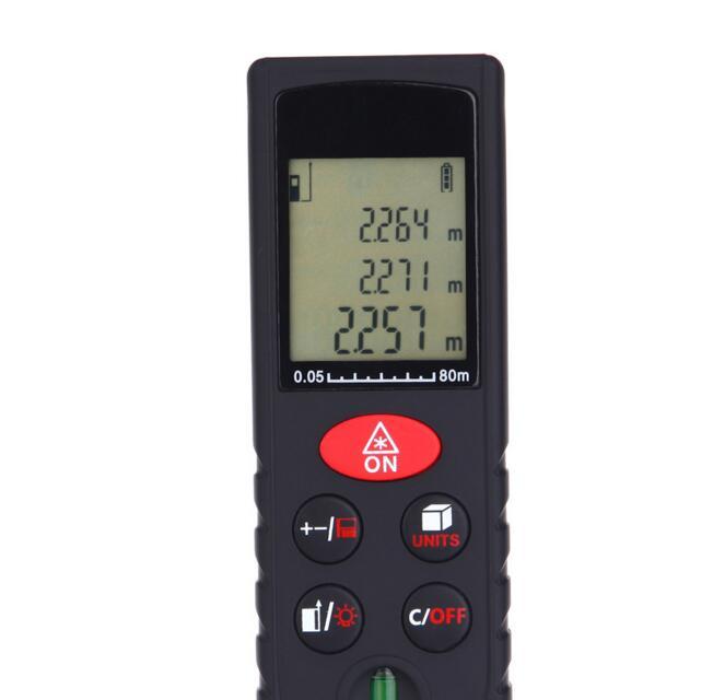 H80 Мини Ручной цифровой лазерный дальномер метров 80 м дальномер