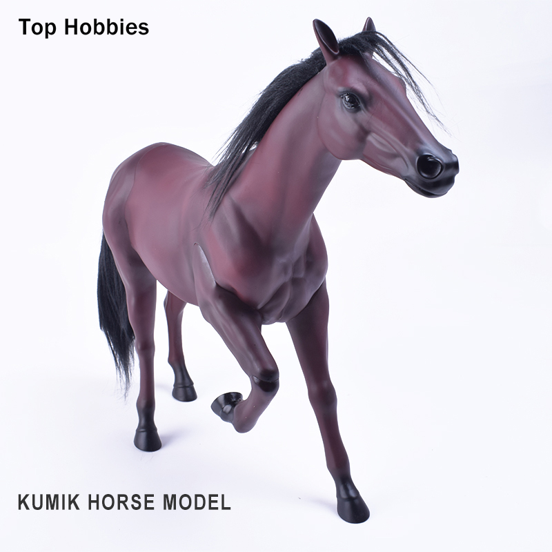 KUMIK 1/6 Scale War Brown HORSE Model AC-10 Fit for 12