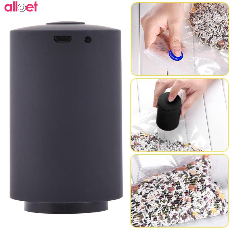 mini portable Black food home vacuum sealing machine file valuables vacuum packaging mach with 5 vacuum bags fast shipping household vacuum packaging sealing machine sealer wet and dry use 30cm 110w 220v