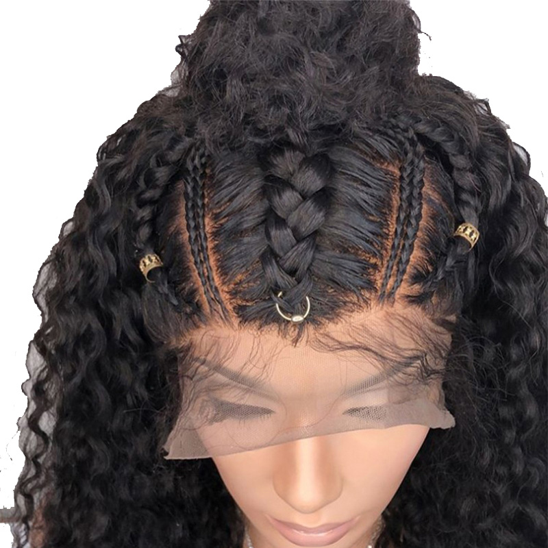 360 Lace Frontal Wig Pre Plucked With Baby Hair Deep Wave Lace Front Human Hair Wigs 180 Density Brazilian Remy Hair Venvee