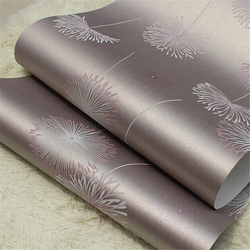 beibehang 3D wallpaper roll embossed texture fashion non-woven floral flower papel de parede for living room background wall купить