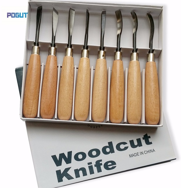 Free shipping pcs woodpecker dry hand wood carving tools