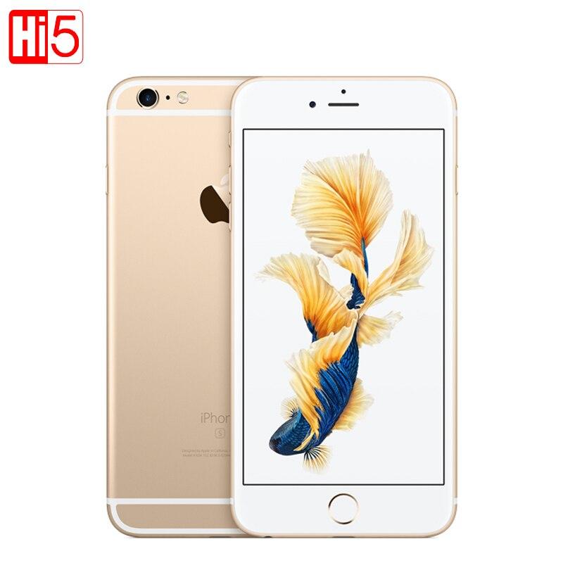 Разблокированный Apple IPhone 6S Plus ГБ 2 Гб оперативная память 16 ГБ/64 Встроенная 5,5 дисплей 12.0MP iOS LTE отпечатков пальцев одной sim двухъядерный smartmobile