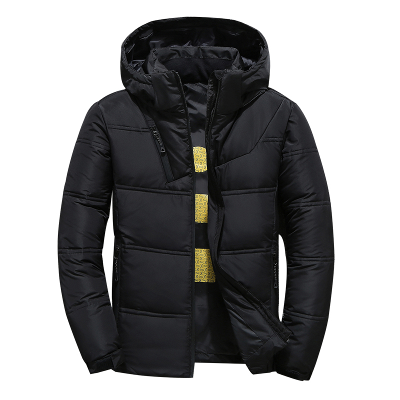 High Quality White Duck Down Jacket Men Coat Winter Snow Parkas Male Warm Brand Men Clothing Winter Down Jacket Outerwear Hooded