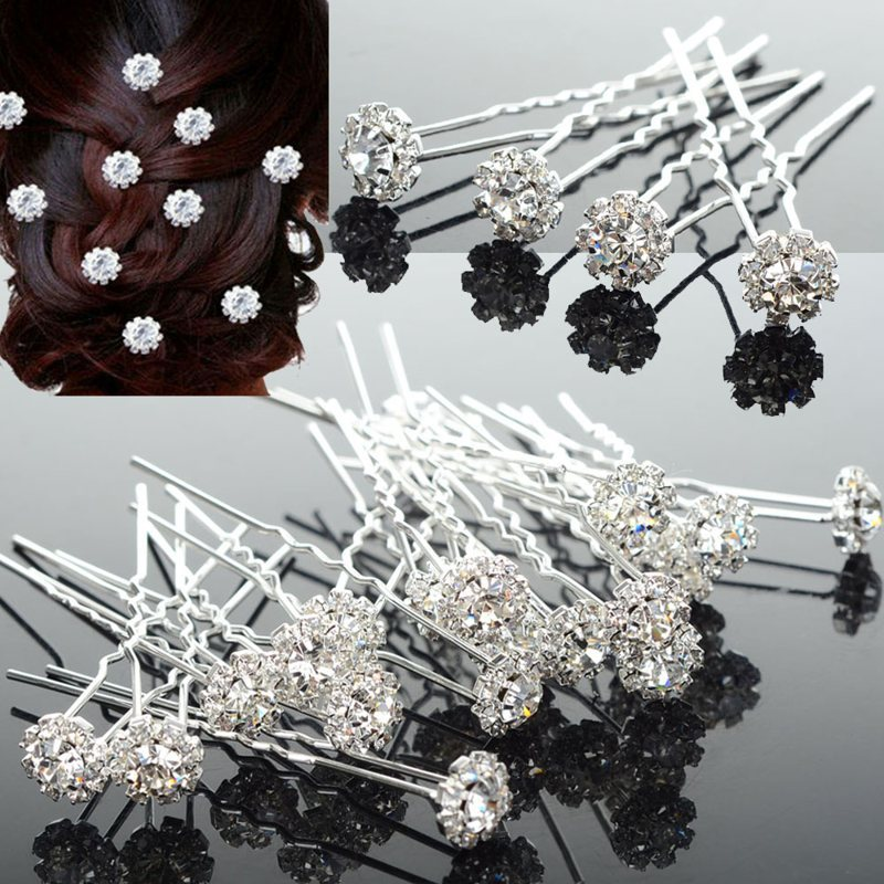Buy diamante flower pins and get free shipping on AliExpress.com c9dd4b49aa17