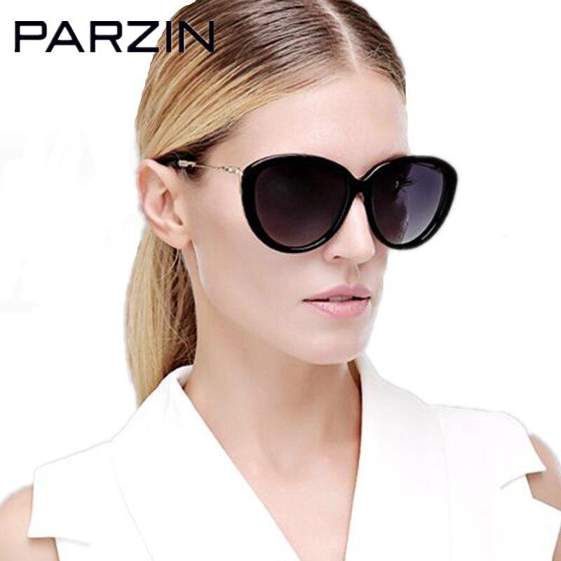 Parzin Polarized Retro Sunglasses Women Metal Leg Sun Glasses Female Ladies Driving Glasses Lunette De Soleil
