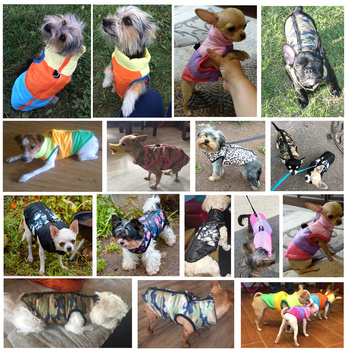 Warm Pet Vest Winter Jacket Clothing for Small Dog Puppies Clothes 2