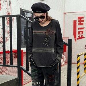 Image 4 - Max LuLu/Весенняя Роскошная Одежда в Корейском стиле панк, женские топы, футболки, женские футболки Kawaii, винтажные повседневные женские готические футболки, 2019