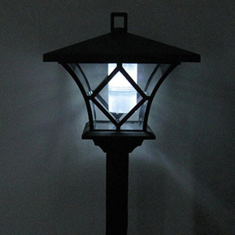 Smart Solar Powered Lantern Room Lawn Lamp IP65 Super Bright LED Solar Pillar Yard Light Yard Decor Lamp Quality Lighting New
