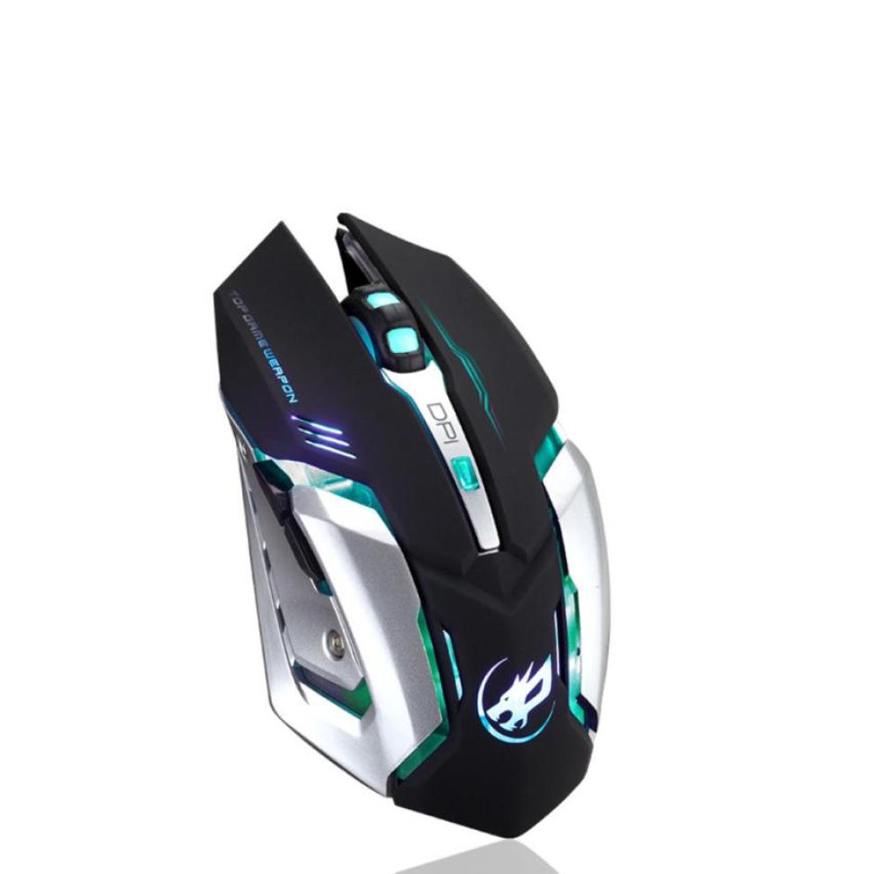 Image 3 - Rechargeable T1 Wireless Silent LED Backlit USB Optical Ergonomic  Gaming Mouse LOL Gaming Mouse Surfing The Mouse # ZC-in Mice from  Computer