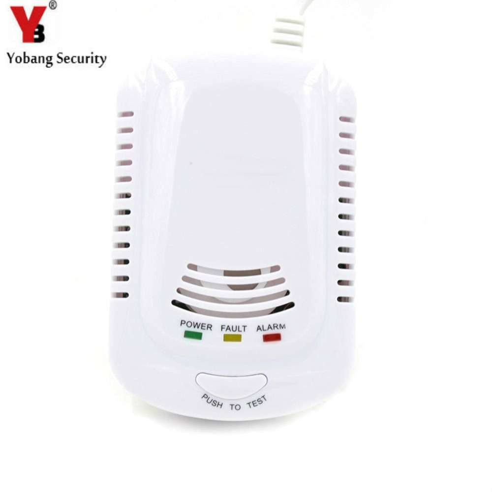 bilder für YobangSecurity Plug-In Brennbares Gas-detektor Alarm Sensor Gas Leckage Sensor und Batterie-Backup