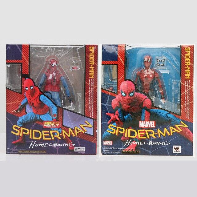 15 centímetros Super hero the avengers spider man spiderman coming home figura de ação DO PVC Brinquedos