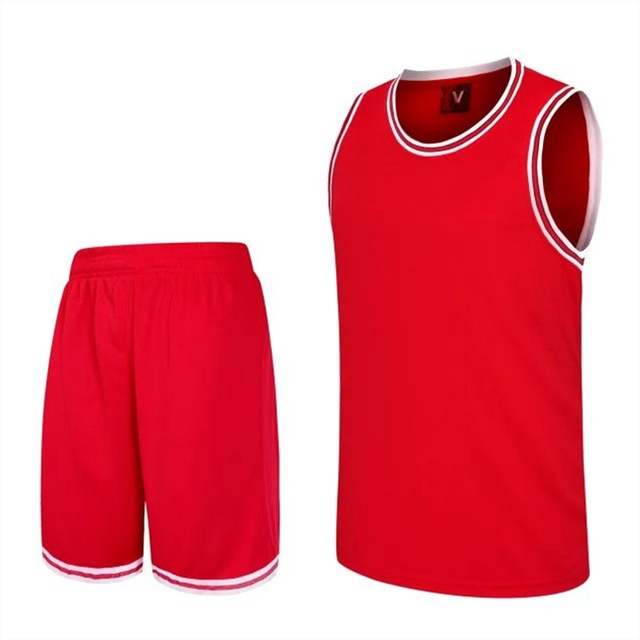 2bf11e67cf0 Cheap Mens Basketball Jersey Sets breathable College Sport Team Basketball  T Shirt Sleeveless Training Vest with shorts Uniforms