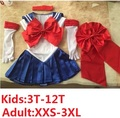 super sailor moon cosplay costume set usagi  sailor jupiter kids dress venus kostuum halloween  for kids satin mercury women