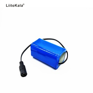 Image 3 - LiitoKala 7.4V 8.4V 4400mAh Battery Pack 18650 Battery 4.4Ah Rechargeable Battery For Bicycle Headlights/CCTV/Camera/Electric