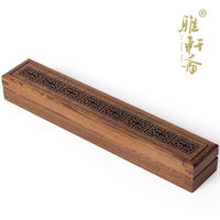 home decoration Rosewood sandalwood incense incense wood furnace line wings wood box Lying Buddha incense burner