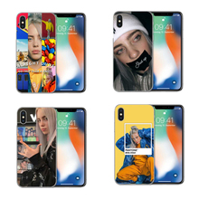 Billie Eilish Cases High quality clear Soft Silicone TPU Phone Case Cover For iPhone 5 5S SE 6 6S Plus 7 7Plus 8 X 10