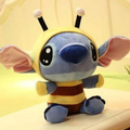 1Pcs/set 20cm Stitch Toy Bee Stitch Cosplay TV Stuffed Soft Plush Toys Cartoon Toy for Kids Baby Boys Girls