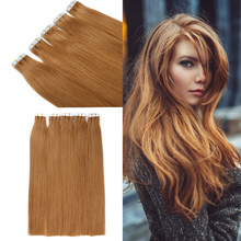Tape In Human Hair Extensions 20pcs/lot Best Quality PU Skin Weft Human Hair Extension Free Shippping Tape Hair