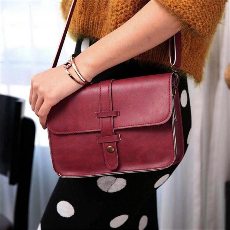 Damentaschen Gepäck & Taschen Mode Kleine Schulter & Brust Tasche Für Frauen Karte Handy Tasche Pu Leder Damen Umhängetaschen Geldbörse Weibliche Messenger Tasche
