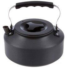 1.1L портативный ультра-светильник Открытый походный Кемпинг Пикник чайник кофе горшок анодированный алюминий