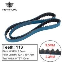 Racing Timing Belt FOR 90 92 Geo Prizm 89 91 Toyota Corolla MR2 1.6L AE86 AW11 AE92 AE92 Kouki AE101 4AG HNBR Blue PQY TB1013