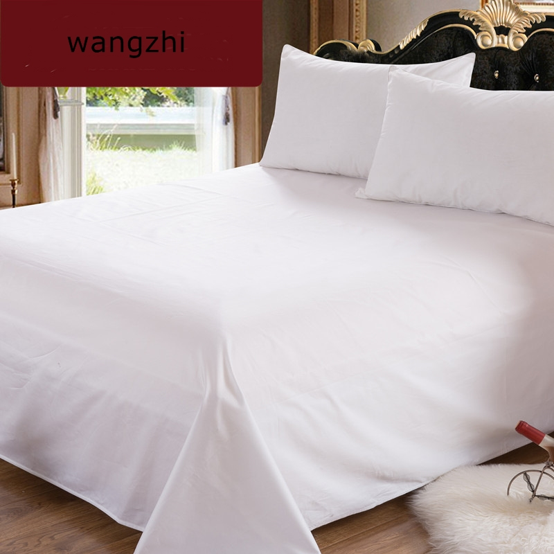 Bed-Sheets Luxury Bedding Queen-Size Super-Sale 100%Cotton Count Solid Hotel 300-Thread
