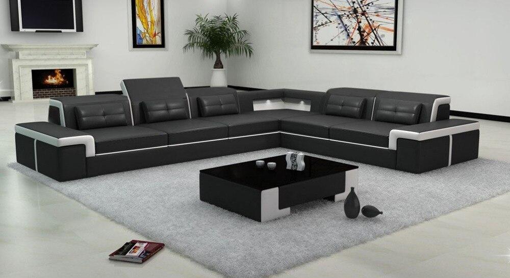 Hoekbank Met Led.Nieuwe Design Bank Hoekbank Met Led Licht Sofa In Nieuwe Design Bank