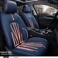 Cubierta de asiento de coche de cuero especial para Todos Los modelos de Ford mondeo Focus Fiesta S-MAX Edge Explorador Taurus dedicada accesorios styling