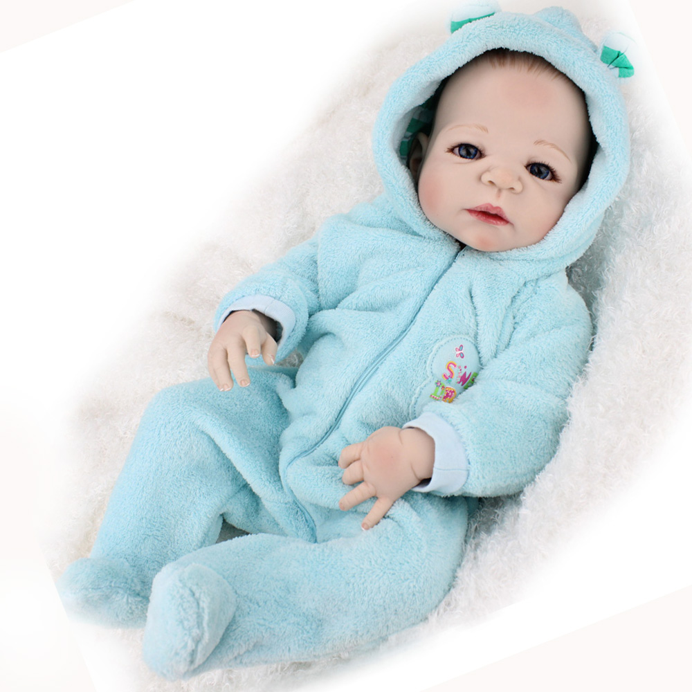 KAYDORA 55cm Silicone Vinyl Reborn Baby Doll Toy Lifelike Wholesale Body &Bath Baby Shower Gifts Npk Collection