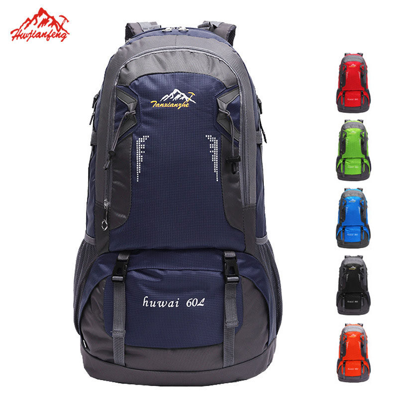 Mens Women Outdoor Backpack Rucksack Climbing Travel Camping Sports Hiking Bag