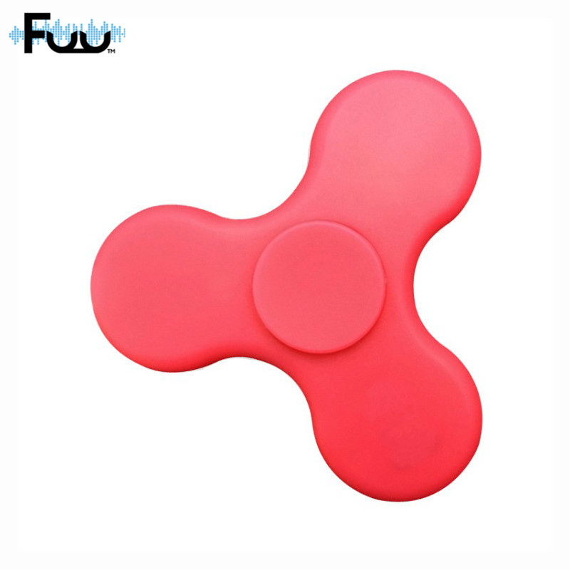 FUU Hot Bluetooth Speaker LED EDC Hand Spinner Anti Stress Fluorescent for Adult Kids Funny